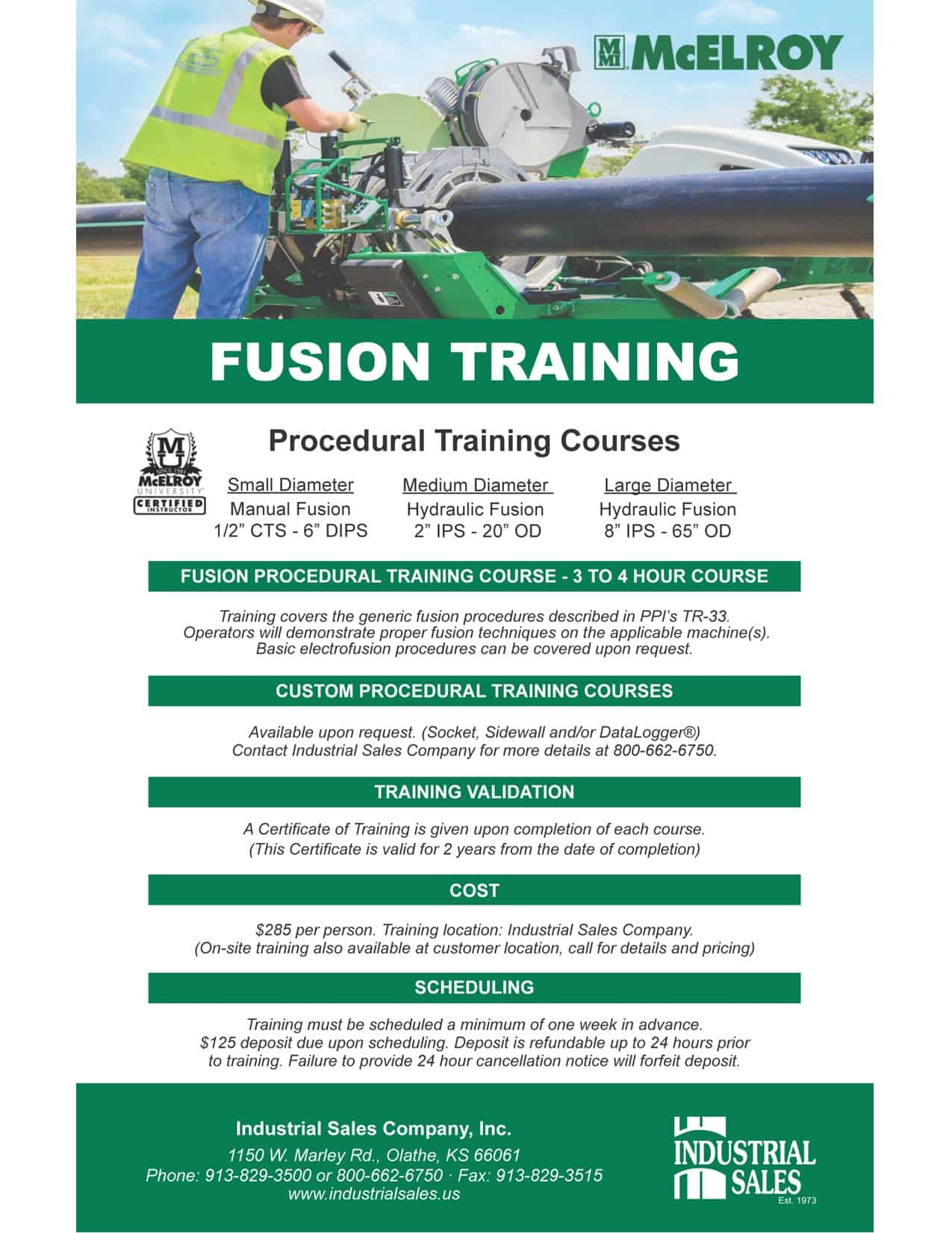 Fusion Training Insert